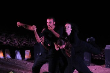Bryan MacCormack | Freedom Theatre Performance at Khan al-Ahmar