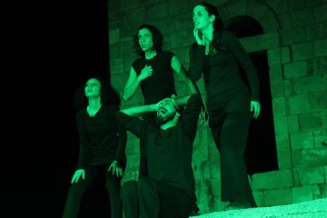 Bryan MacCormack | The Freedom Theatre Performs in Nabi Saleh