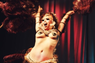 Meg Wethersfield | Cheekie Lane, Storybook Burlesque | Performance series |  2014